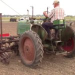 How an Oliver Check Row Corn Planter Works