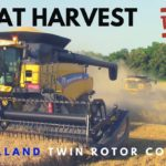 Wheat Harvest with New Holland Combines